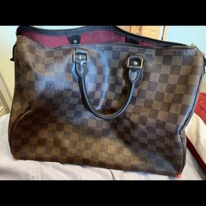 Authentic Louis Vuitton Purse Speedy 35